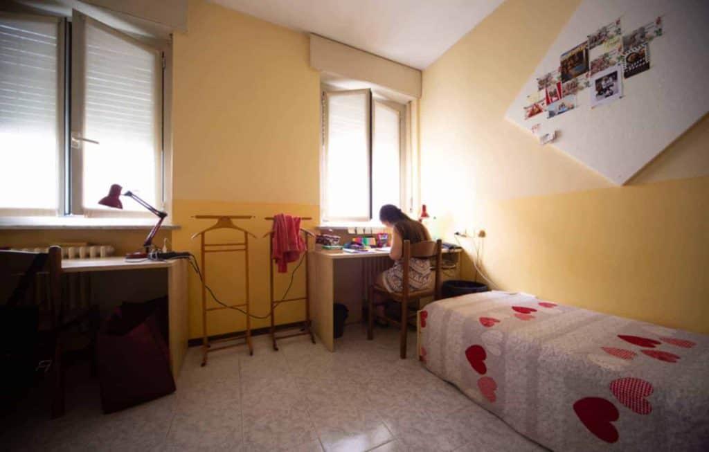 Camera di una Residenza a Milano Collegiunicattolica